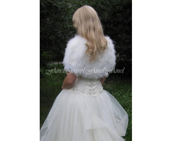 Свадебная накидка №51 для невесты прокат