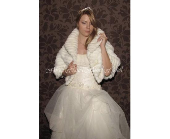 Накидка на свадьбу №56 для невесты прокат