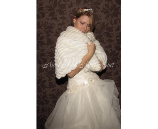 Свадебная накидка №56 для невесты в прокат