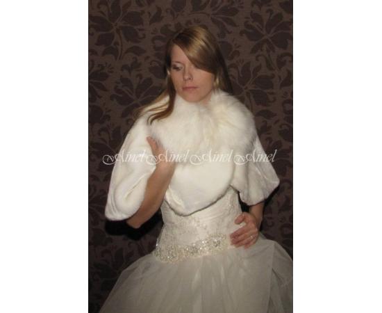 Накидка на свадьбу №58 для невесты напрокат