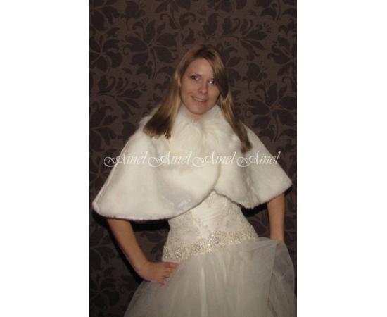 Свадебная накидка №58 для невесты прокат