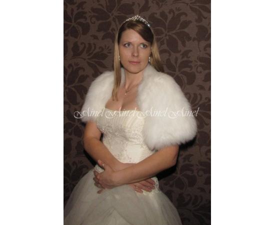 Накидка на свадьбу №64 для невесты напрокат