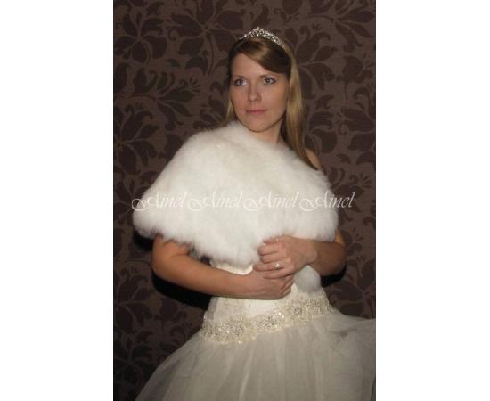 Свадебная накидка №64 для невесты прокат