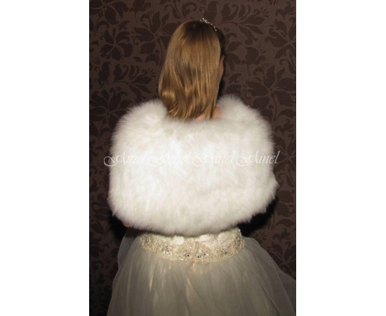 Свадебная накидка №64 для невесты в прокат