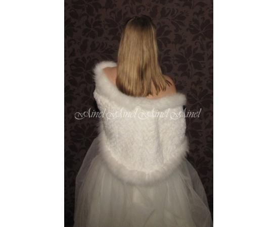 Накидка на свадьбу №65 для невесты прокат