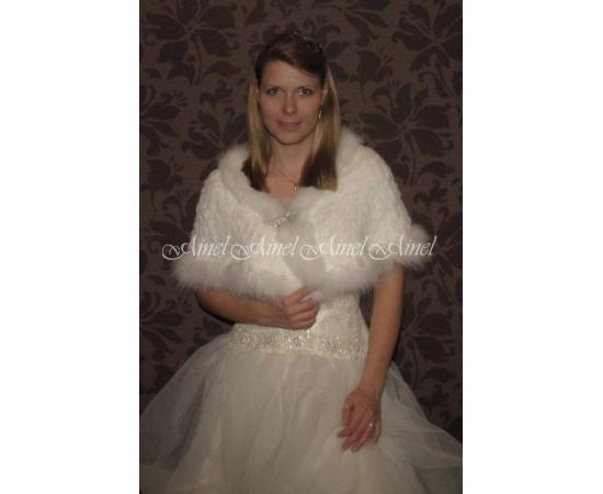 Накидка на свадьбу №65 для невесты в прокат