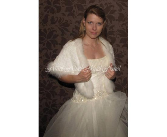 Свадебная накидка №65 для невесты в прокат
