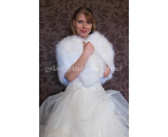 Накидка на свадьбу №81 для невесты прокат