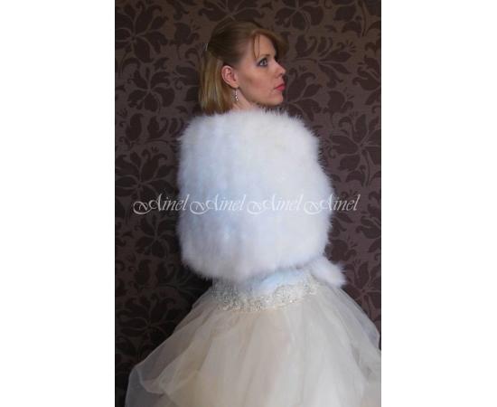 Накидка на свадьбу №81 для невесты в прокат