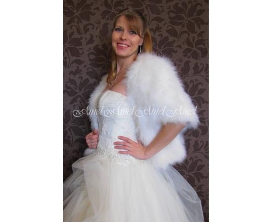 Свадебная накидка №81 для невесты напрокат