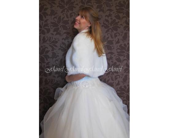 Накидка на свадьбу №73 для невесты в прокат