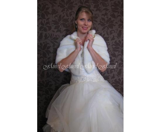 Свадебная накидка №73 для невесты напрокат