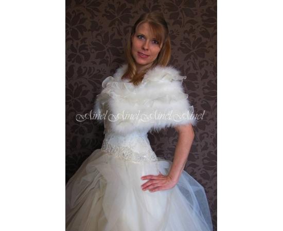 Накидка на свадьбу №82 для невесты напрокат