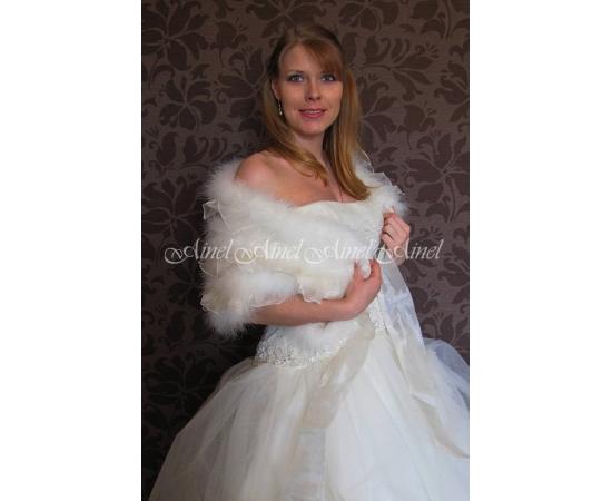 Свадебная накидка №82 для невесты прокат