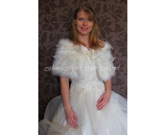 Свадебная накидка №82 для невесты в прокат