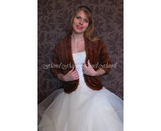 Накидка на свадьбу №80 для невесты напрокат