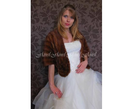 Накидка на свадьбу №80 для невесты прокат
