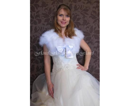 Свадебная накидка №83 для невесты напрокат