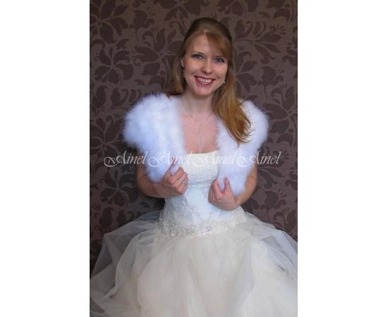 Свадебная накидка №83 для невесты в прокат