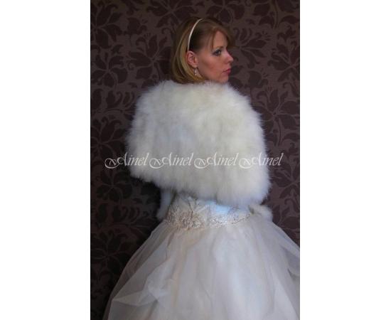 Накидка на свадьбу №84 для невесты в прокат