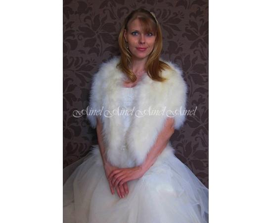 Накидка на свадьбу №84 для невесты напрокат