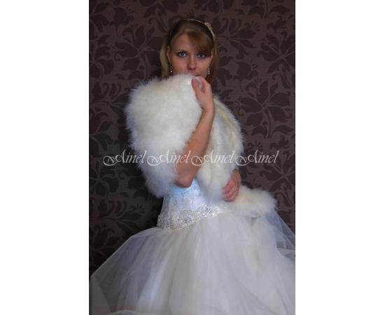 Свадебная накидка №84 для невесты прокат