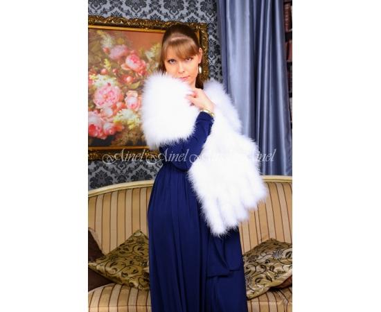 Палантин на свадьбу №105 для невесты в прокат