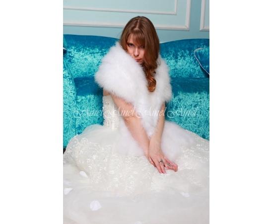 Свадебный палантин №105 для невесты напрокат
