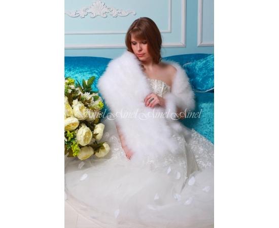Свадебный палантин №105 для невесты прокат