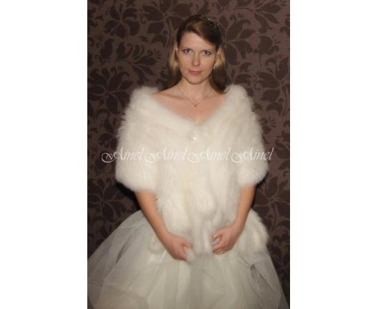 Свадебный палантин №66 для невесты напрокат