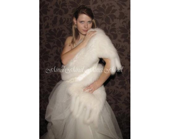 Свадебный палантин №66 для невесты в прокат