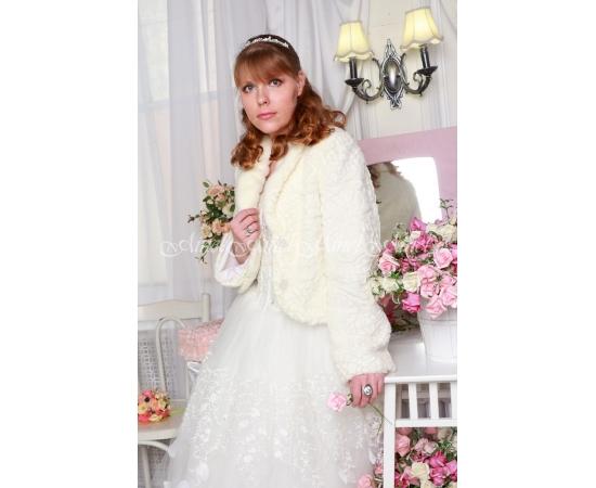 Свадебная шубка №94 для невесты прокат