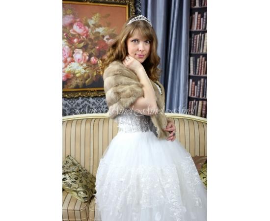 Свадебная накидка №95 для невесты напрокат