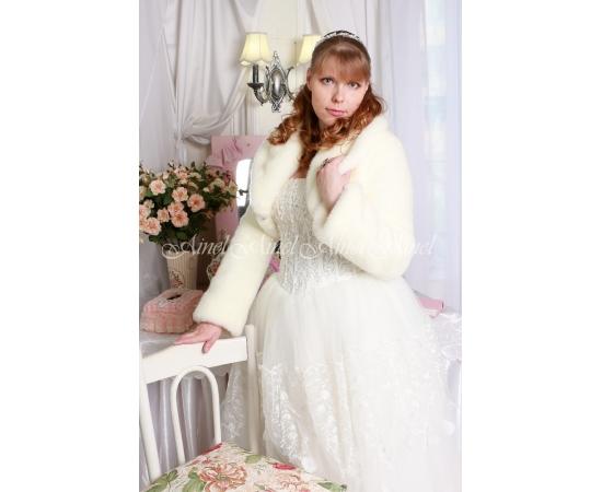 Свадебная шубка №99 для невесты напрокат