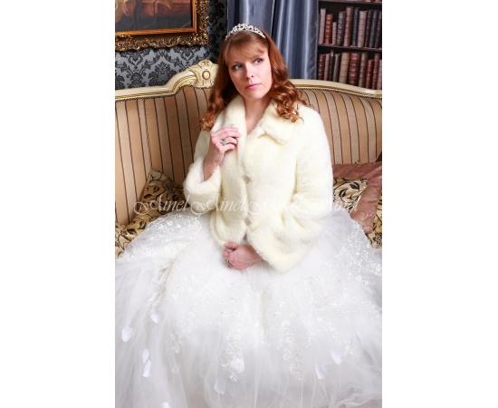 Шубка на свадьбу №100 для невесты напрокат