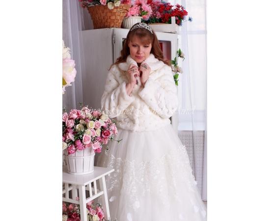 Свадебная шубка №101 для невесты в прокат