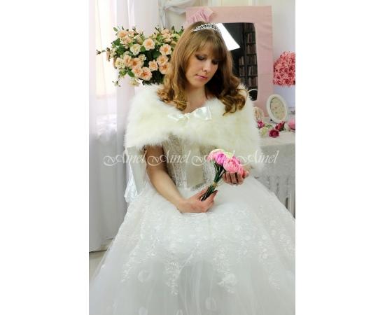 Накидка на свадьбу №103 для невесты напрокат