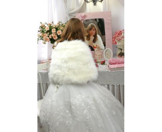 Свадебная накидка №103 для невесты прокат