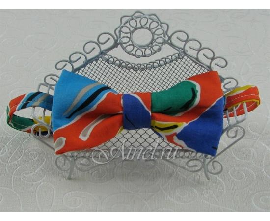 Галстук-Бабочка №2-37 многоцветный