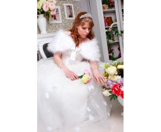 Накидка на свадьбу №106 для невесты напрокат