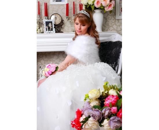 Свадебная накидка №106 для невесты прокат