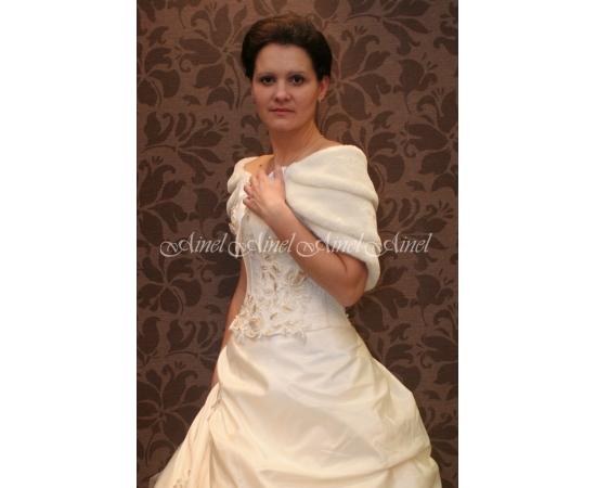 Горжетка на свадьбу №25 для невесты прокат