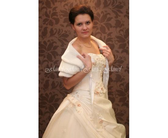 Горжетка на свадьбу №25 для невесты в прокат
