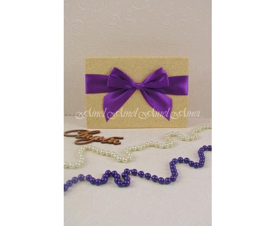 Папка для свидетельства №2 А5 фиолетовый