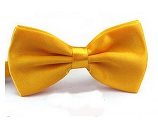 Галстук-Бабочка №1-31 желто-золотой