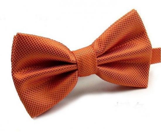 Галстук-Бабочка №1-42 оранжевый