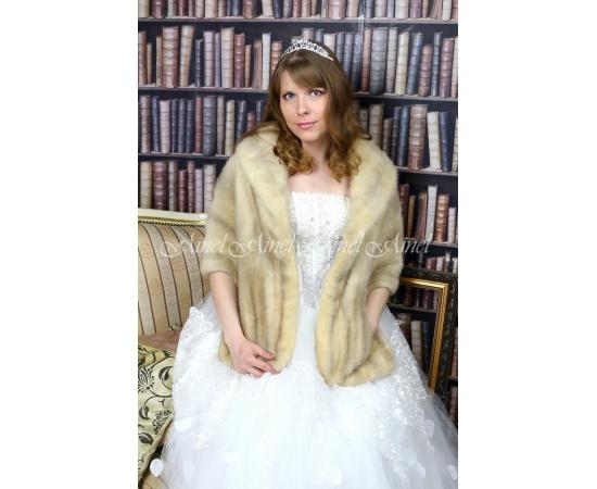 Свадебная накидка №96 для невесты напрокат