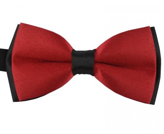 Галстук-Бабочка №1-62 красно-черный