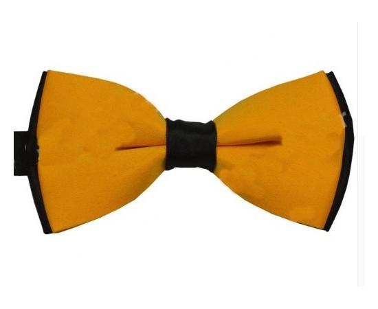 Галстук-Бабочка №1-63 желто-черный