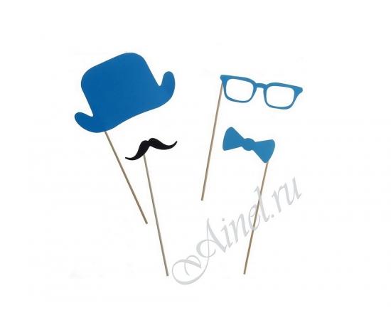 Набор бутафории 4 предмета синий
